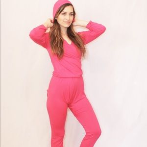 Other - Onesie loungewear with butt flap